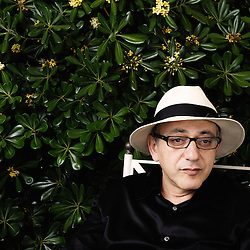 """Israeli director Elia Suleiman at the 62th Cannes Film Festival, presenting his movie """"The Time that Remains"""". France. 22 May 2009. Photo: Antoine Doyen"""