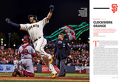 Michael Morse homers against the Cardinals in the NLCS, Sports Illustrated, 2014