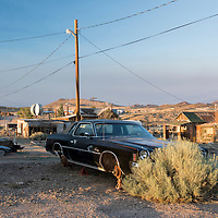 USA,Nevada,Mineral County, Goldfield, ghost town
