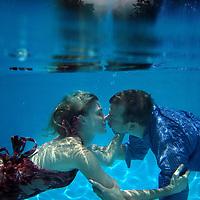 Underwater Engagement Photography, Tampa Wedding Photography, Kristina, & Jim,