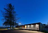 New Clubhouse, Aarhus Rowing Club, Denmark (Århus Roklub klubhus)