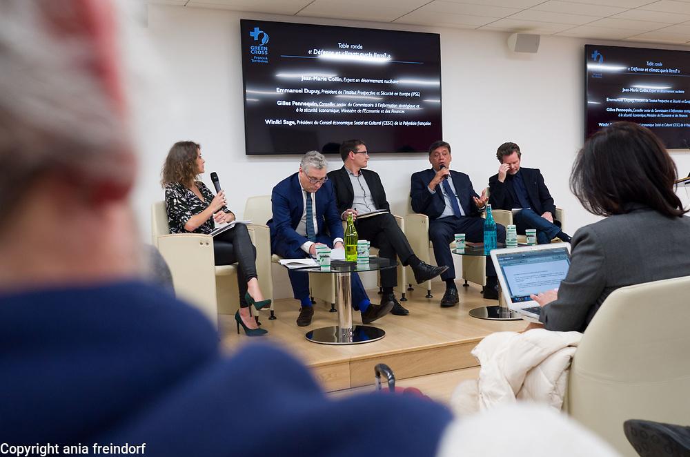 Green Cross France et Territoires, ONG, Defense et climat, Quelles évolutions dans un monde qui change ? Paris, France