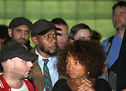 May 1, 2012- New York, United States- Recording Artist/Actor Yasiin Bey (Formely known as Mos Def) attends Occupy Wall Street May Day Celebration with March/Parade down Broadway in New York City with calls for General Strike-with No Work-No Housework-No shopping-No School. Occupy Wall Street is a leaderless resistance movement with people of many colors, genders and political persuasions. Their belief holds that one thing we all have in common is that We Are The 99% that will no longer tolerate the greed and corruption of the 1%. We are using the revolutionary Arab Spring tactic to achieve our ends and encourage the use of nonviolence to maximize the safety of all participants.(Photo by Terrence Jennings).