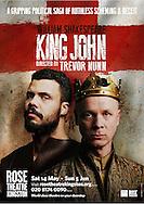King John at the Rose Theatre. Director Trevor Nunn