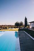 Pool and loungers at Herdade da Malhadinha Nova (Country House & Spa Wine), Alentejo