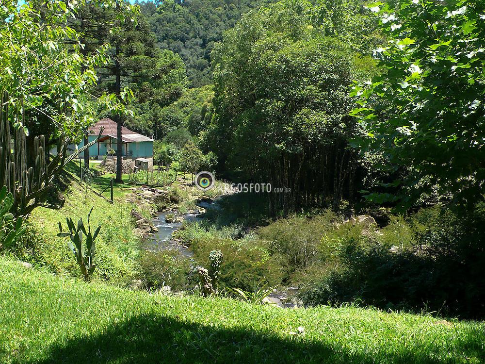Paisagem rural .Vale do Vinhedos,Bento Goncalves, Rs Brasil. / Rural landscape. Vineyard valley, Bento Goncalves, Rio Grande do Sul, Brazil