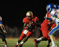 Lafayette High's D.K. Buford (2) vs. Memphis University School in Oxford, Miss.  on Friday, September 27, 2013. MUS won.