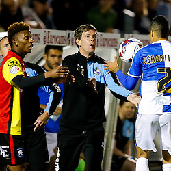 Bristol Rovers Manager Darrell Clarke - Mandatory byline: Rogan Thomson/JMP - 07966 386802 - 11/08/2015 - FOOTBALL - Memorial Stadium - Bristol, England - Bristol Rovers v Birmingham City - Capital One Cup First Round.