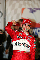 Helio Castroneves wins at the Richmond International Raceway, SunTrust Indy Challenge, June 25, 2005