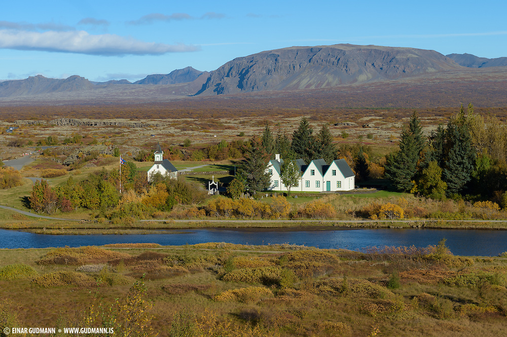 National park in southwest-Iceland. The national parliament of Iceland, was established at Þingvellir in 930, and held its sessions there until 1798.