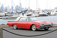 1962 Ford Thunderbird Roadster Convertable - Red.For Bonhams Auction Catalogue.The Anchorage Marina.Williamstown, Victoria, Australia.17th September 2011.(C) Joel Strickland Photographics.Use information: This image is intended for Editorial use only (e.g. news or commentary, print or electronic). Any commercial or promotional use requires additional clearance.
