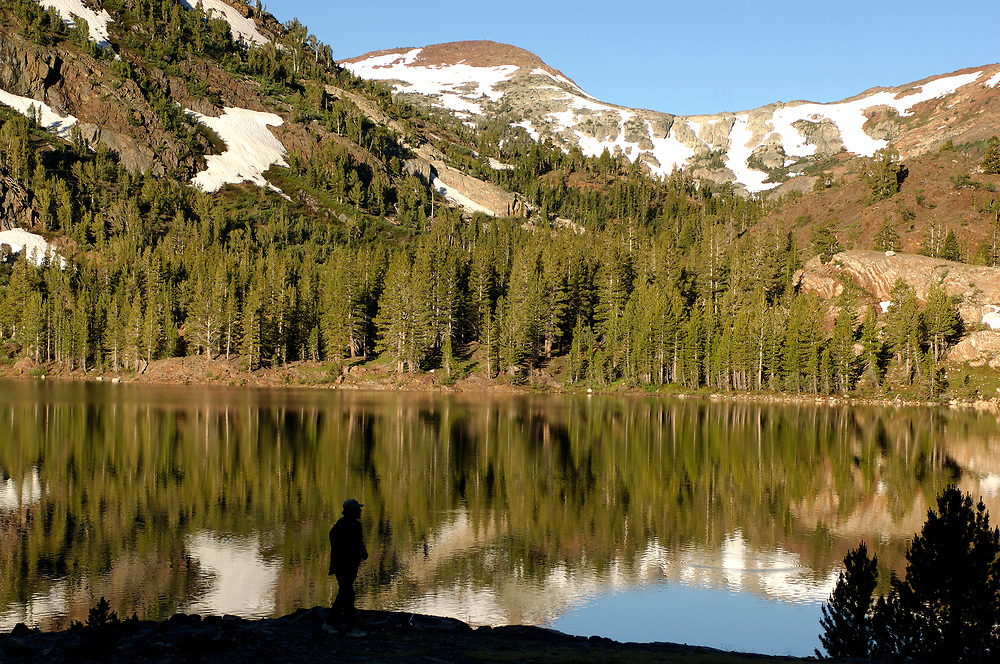 Ellery Lake along Tioga Pass Road, near Lee Vining, California, United States of America