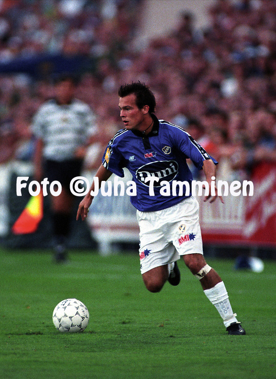 01.09.1997.Peter Ljungberg - Halmstads BK.©Juha Tamminen