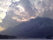 Salzburg Groeden view on Bavaria