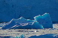 Backlit iceberg.