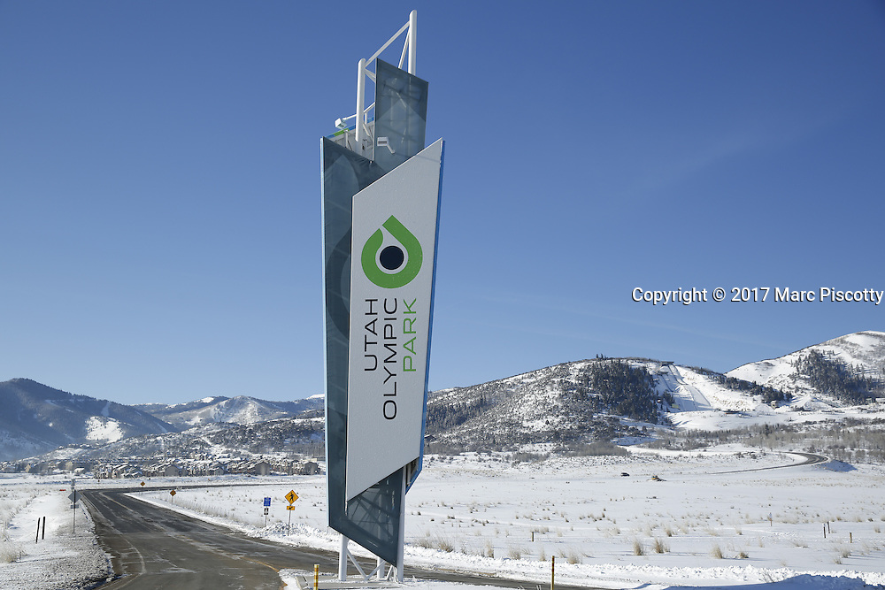 SHOT 3/2/17 9:30:31 AM - Park City, Utah lies east of Salt Lake City in the western state of Utah. Framed by the craggy Wasatch Range, it's bordered by the Deer Valley Resort and the huge Park City Mountain Resort, both known for their ski slopes. Utah Olympic Park, to the north, hosted the 2002 Winter Olympics and is now predominantly a training facility. In town, Main Street is lined with buildings built primarily during a 19th-century silver mining boom that have become numerous restaurants, bars and shops. (Photo by Marc Piscotty / © 2017)