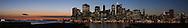 Silhouette of Manhattan