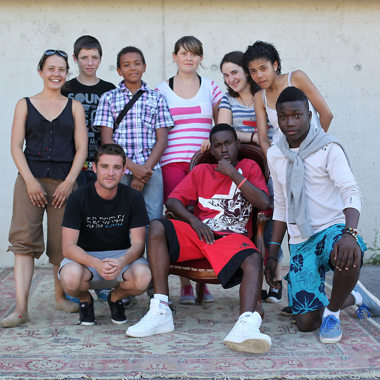 Bénévoles Festival Ard'Afrique 2012