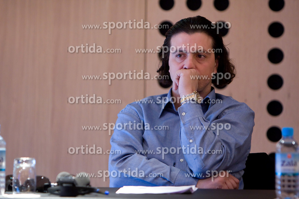 Zlatko Zahovic of NK Maribor at Management conference of Slovenian Football Federation, on March 10, 2009, in Hotel Kokra, Brdo pri Kranju, Slovenia. (Photo by Vid Ponikvar / Sportida)