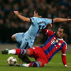141125 Man City v Bayern Munich