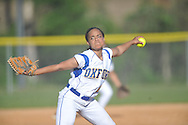 Oxford High's Ciara Steward pitches vs. Pearl in MHSAA Class 5A playoff action in Oxford, Miss. on Friday, April 25, 2014.