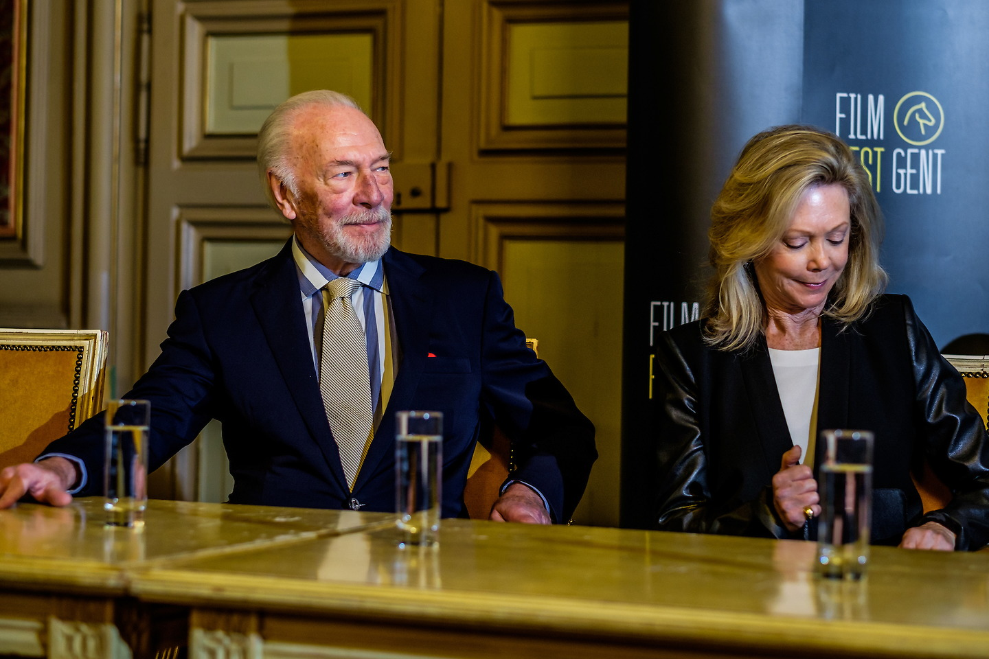 Film Fest Gent - Christopher Plummer: Joseph Plateau Honorary Award (14-10-2015)