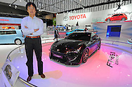 Tetsuya Tada - Chief Engineer - Sport Vehicle Mangement Division.from Toyota Motor Corporation with his Toyota FT86II Concept.2011 Australian International Motorshow (AIMS).Melbourne Convention and Exhibition Centre.Southbank, Melbourne.9th of July 2011.(C) Joel Strickland Photographics.Use information: This image is intended for Editorial use only (e.g. news or commentary, print or electronic). Any commercial or promotional use requires additional clearance.
