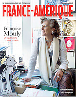 """Françoise Mouly: La Cover-Girl du New Yorker"", France-Amerique, December 2012"