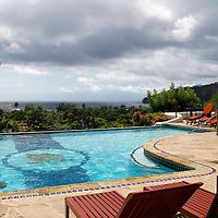 Central America, Nicaragua, San Juan del Sur. Pelican Eyes Resort & Spa in San Juan del Sur.