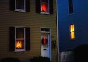 Christmas eve in Oella, Maryland.