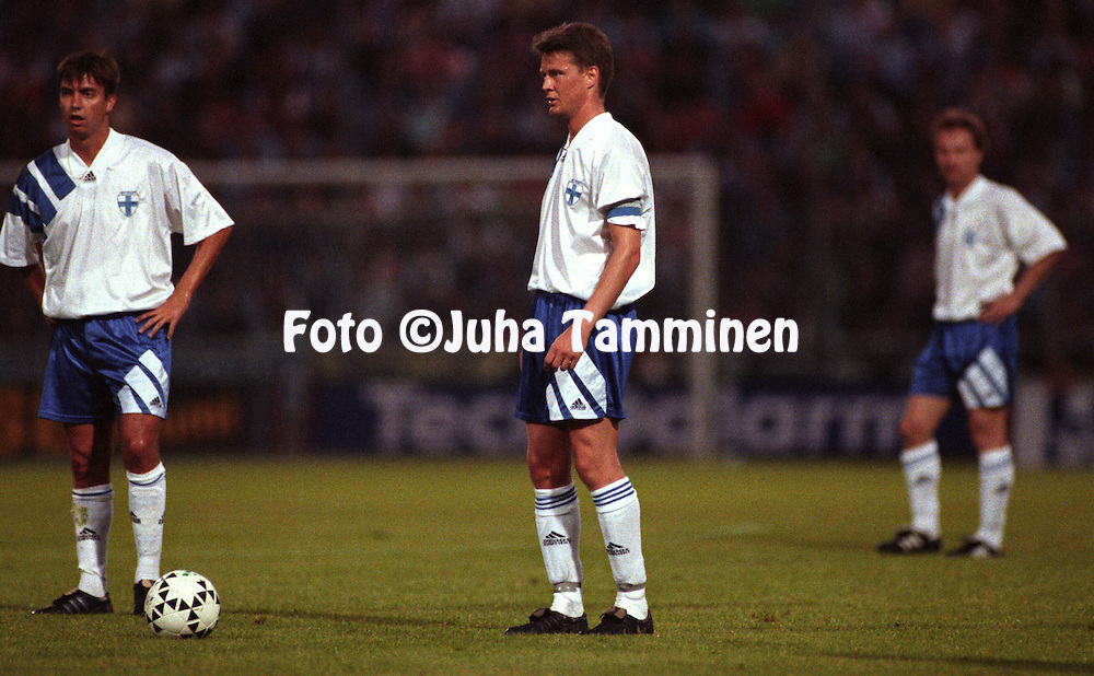 27.05.1994, Parma, Italy..Friendly International match, Italy v Finland..Ari Hjelm - Finland.©JUHA TAMMINEN
