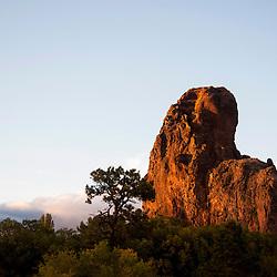 Frog Rock in Navajo, N.M.
