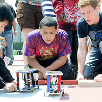 Citizen Schools student complete their Solar Car Apprenticeship at MIT.