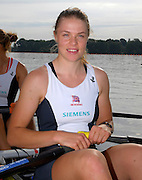 Reading, Great Britain, GBR W2X, Anna BEBINGTON at the GB Rowing,  2007 World Rowing Championship Team Announcement at the Rowing Training centre, Caversham, ENGLAND 19/07/2007  [Mandatory Credit Peter Spurrier/ Intersport Images] , Rowing course: GB Rowing Training Complex, Redgrave Pinsent Lake, Caversham, Reading