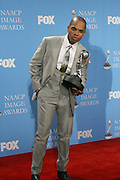 Kirk Franklin in the Media Room at The 39th Annual NAACP IMAGE AWARDS held at the Shrine Auditorium in Los Angeles, Calaifornia on February 14, 2008