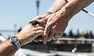 IMOCA Ocean Masters. New York - Barcelona Race start. <br /> Credit: Mark Lloyd/Lloyd Images