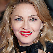Madonna attends the UK premiere of W.E. at ODEON Kensington on January 11, 2012 in London, England..© Antony Jones..