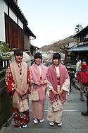Kansai Prefecture Press Trip to Kyoto, Osaka and Nara. Japan February 2013..Picture by Alex Hewitt.alex.,hewitt@gmail.com.07789871540