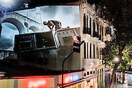 "Slideshow ""Rio Baile Funk"" - work by Vincent Rosenblatt in the district of Lapa, Rio de Janeiro"
