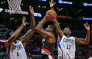 Basketball: 20161013 Los Angeles Clippers vs Portland Trail Blazers