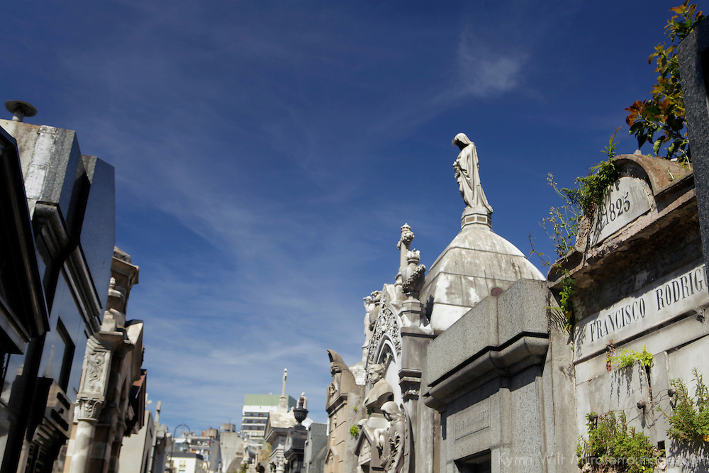 South America, Argentina, Buenos Aires. La Recoleta Cemetary.
