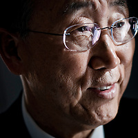 Ban Ki-moon by Chris Maluszynski
