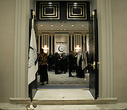 Reception hosted by Iyad Ameen Madani, Secretary General of the Organization of Islamic Cooperation on lthe occasion of The OIC Day and The 69th Session of the United Nations General Assembly.The reception was held at the Waldorf=Astoria Hotel in New York on September 25, 2014.