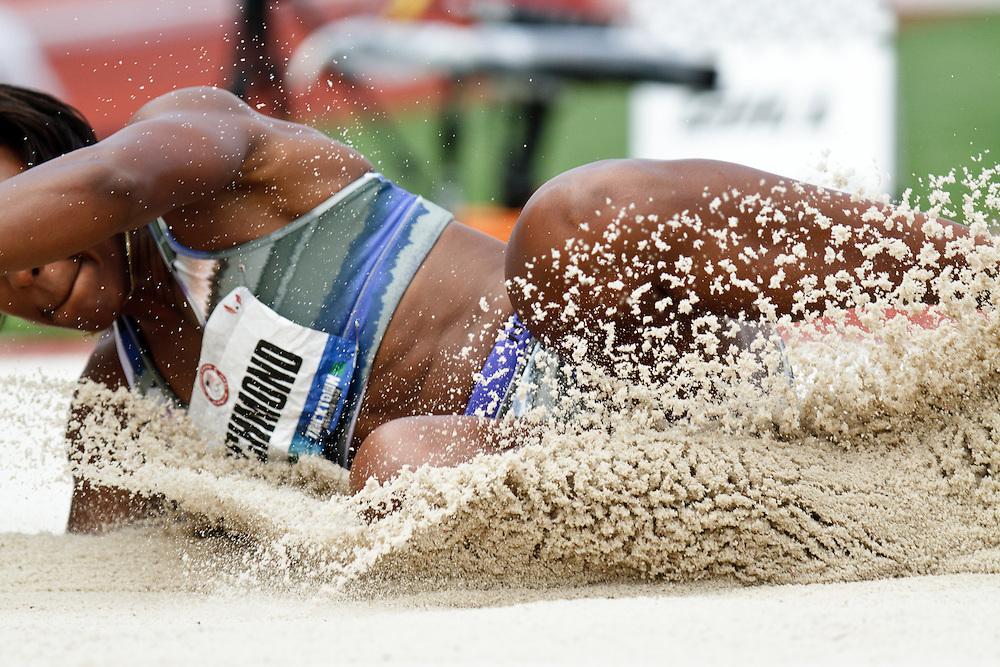 Olympic Trials Eugene 2012: women's long jump, Rose Richmond women's Long Jump
