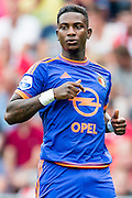 EINDHOVEN - PSV - Feyenoord , Voetbal , Seizoen 2015/2016 , Eredivisie , Philips Stadion , 30-08-2015 , Speler van Feyenoord Eljero Elia komt in het veld en maakt zijn debuut