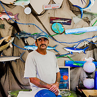 10/28/14 5:37:56 PM -- Cortez, FL, U.S.A  -- John Yates, a former commercial fisherman who was convicted under a major federal document-shredding statute for throwing undersized grouper overboard.  --    Photo by Chip J Litherland, Freelance