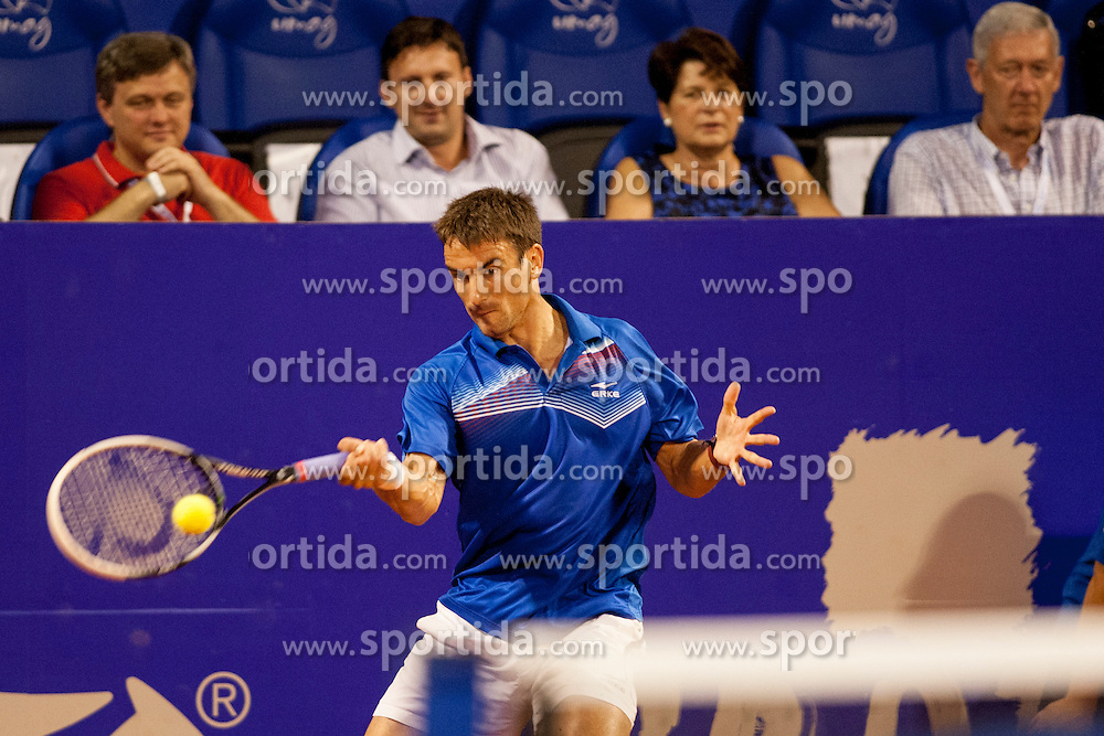 Tommy Robredo (ESP) during a tennis match against the Andreas Seppi (ITA) in semi-final of singles at 24. ATP Vegeta Croatia Open 2013, on July 27, 2013, in Umag, Croatia. (Photo by Urban Urbanc / Sportida.com)