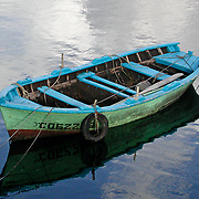 "This little fishing boat was in the harbor in Muros, Spain. The ""Celtic"" region of Spain."