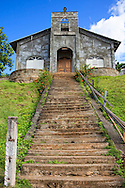 A church near Baracoa, Guantanamo, Cuba.