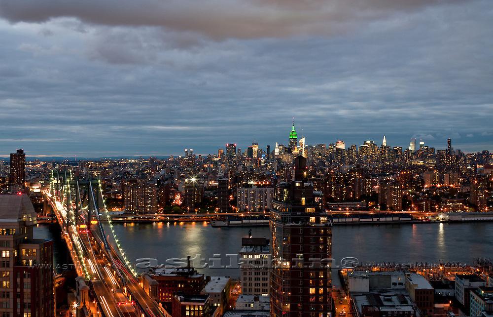 East River and Manhattan Bridge